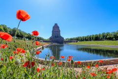 The beautiful Monument Battle of Nations in Leipzig